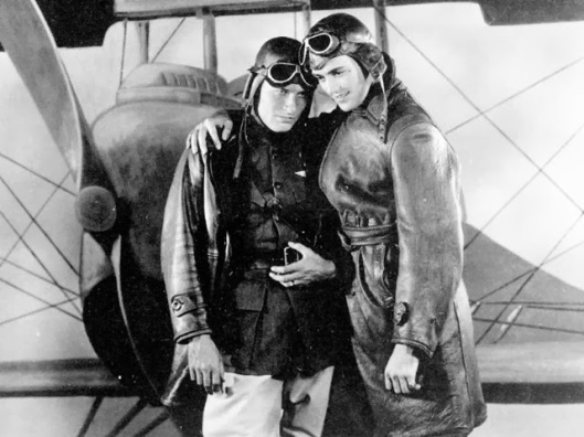 Another close friendship in one of my favorite films: WINGS, 1927.